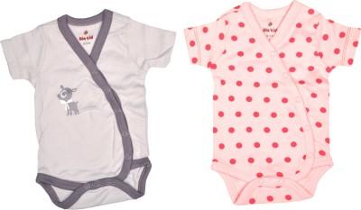 Bio Kid Designer Thistle & Orc Pink Aop Baby Girl's Multicolor Bodysuit