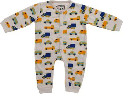 LIL PENGUIN Baby Boy's White Bodysuit