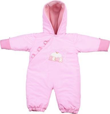 Tillu Pillu Baby Girl's Pink Bodysuit
