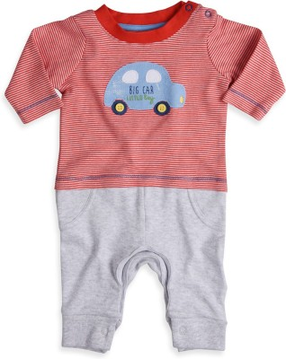 Mothercare Baby Boys Baby Boy's Grey, Red Bodysuit