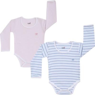 Lula Baby Boys Blue, Pink Bodysuit