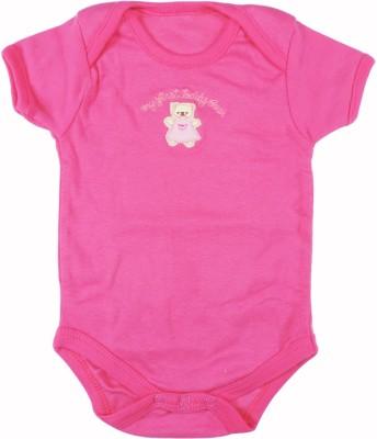 Ole Baby Style Star Baby Boy's Pink Bodysuit