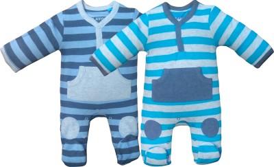 Instyle Baby Boy's Blue, Grey Bodysuit