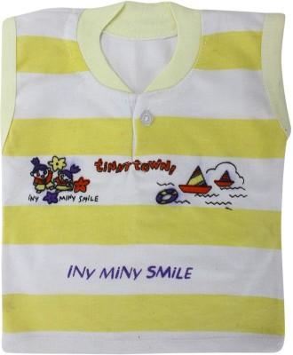 ZACHARIAS Baby Boy's White, Yellow Bodysuit