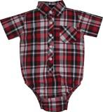 FS Mini Klub Baby Boys Red Bodysuit