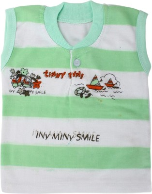 ZACHARIAS Baby Boy's White, Green Bodysuit