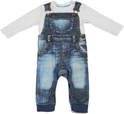 Mothercare Baby Boy's Baby Boy's White, Blue Bodysuit