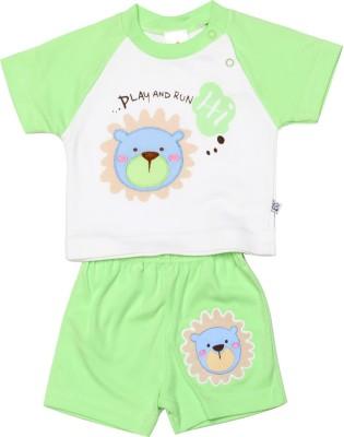 Babeezworld Baby Boy's Green Bodysuit