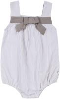 ShopperTree Baby Girls Grey Bodysuit