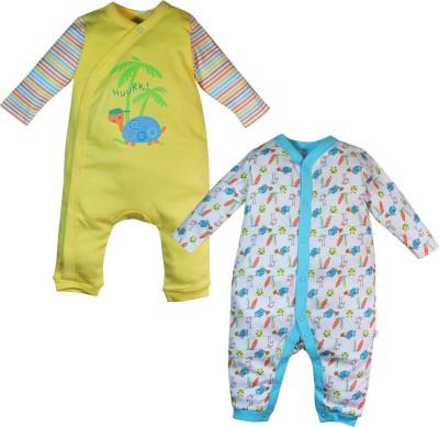 FS Mini Klub Baby Boy's Yellow Sleepsuit