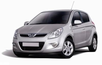 Speedwav Car Double Vent Air Intake White-Hyundai i20 Old Bonnet Scoop