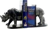 Gaarv Standing Rhino Bookend Aluminium B...