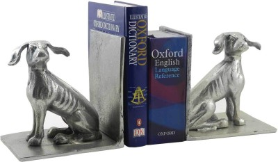 Gaarv Pair Of Dogs Bookend Aluminium Book End