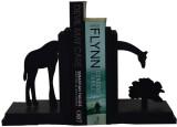 Karigaari Wooden Book End (Orange, Pack ...