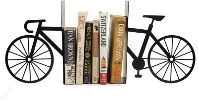 Glazer Metal Art Bicycle Steel Book End