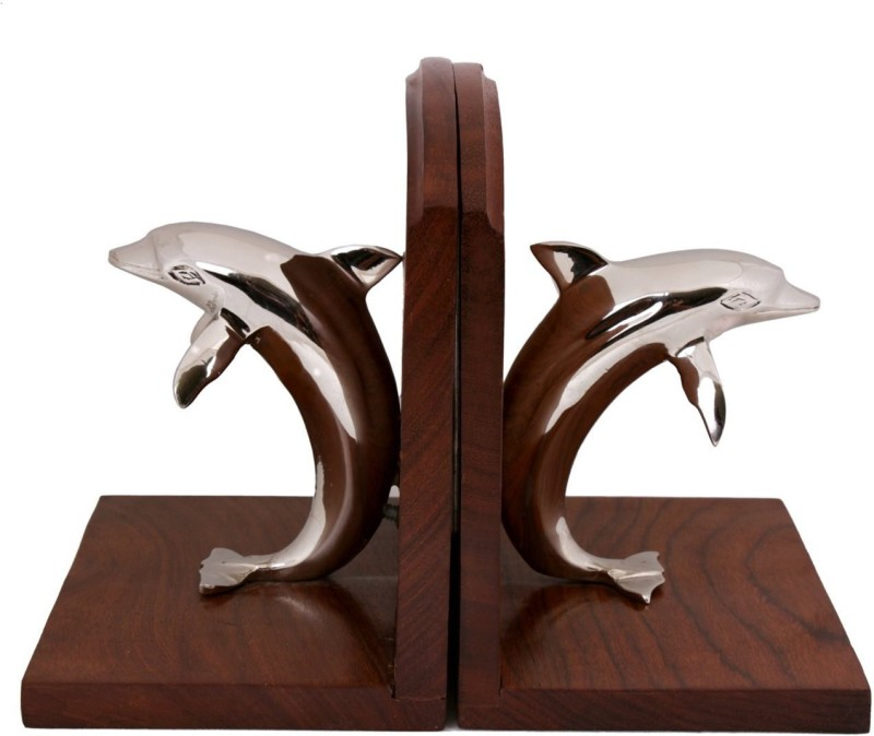 Shrih Wooden Book End(Brown)
