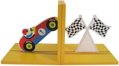 Kidoz Super Eco. Racer Wooden Book End