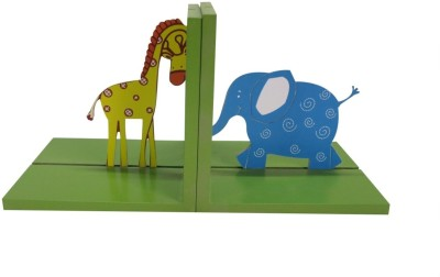 Kidoz Super Eco. Animal Wooden Book End