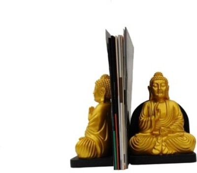 MARIYA DECOR DESIGN BOOKEND Polyresin, Wooden Book End