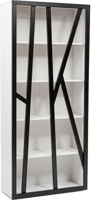 Evok Forest Solid Wood Close Book Shelf