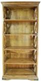 The Attic Solid Wood Open Book Shelf (Fi...