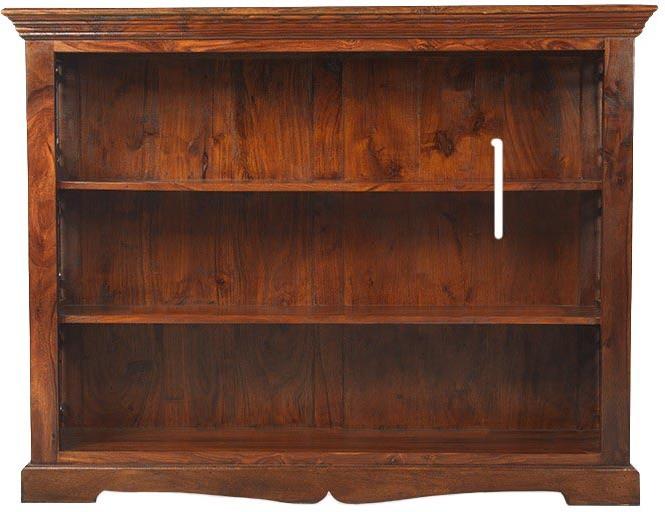 View Jivan Solid Wood Open Book Shelf(Finish Color - Walnut Brown) Furniture