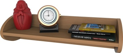 NorthStar CURLY Engineered Wood Open Book Shelf