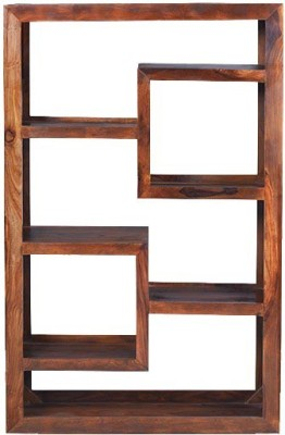 Jivan Solid Wood Display Unit
