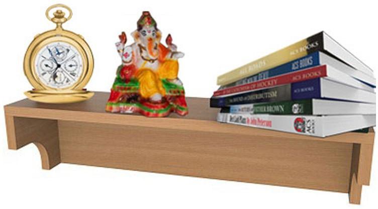 View Indi Sports Engineered Wood Open Book Shelf(Finish Color - Baverian Beach) Furniture (Indi Sports)