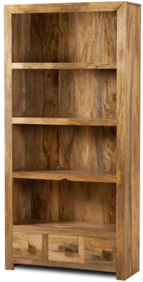 The Attic Solid Wood Open Book Shelf