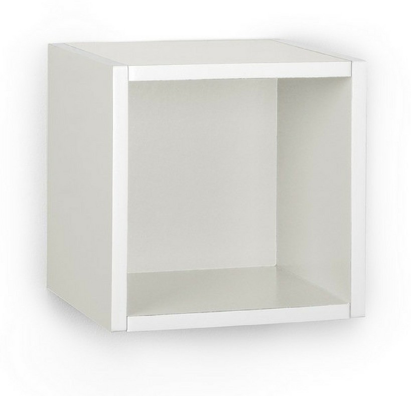 View A10 Shop Engineered Wood Open Book Shelf(Finish Color - Frosty White) Furniture (A10 Shop)