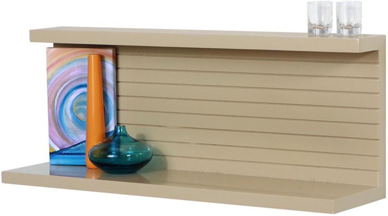 View Lekiaan Engineered Wood Open Book Shelf(Finish Color - Sandstone) Furniture (Lekiaan)