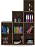 Spacewood Engineered Wood Open Book Shelf(Finish Color - Brown)