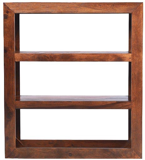View Jivan Solid Wood Display Unit(Finish Color - Walnut Brown) Furniture (Jivan)