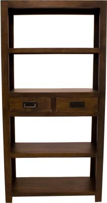 Woodpecker Solid Wood Open Book Shelf