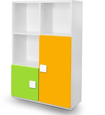 Alex Daisy Universal Engineered Wood Semi-Open Book Shelf