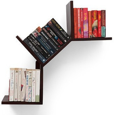 CP DECOR SOFTECH Solid Wood Open Book Shelf