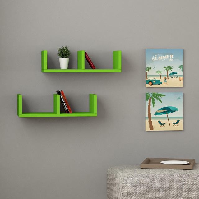 Kingscraft Solid Wood Open Book Shelf class=
