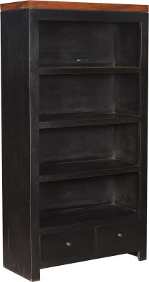 Rishabh Art Solid Wood Open Book Shelf