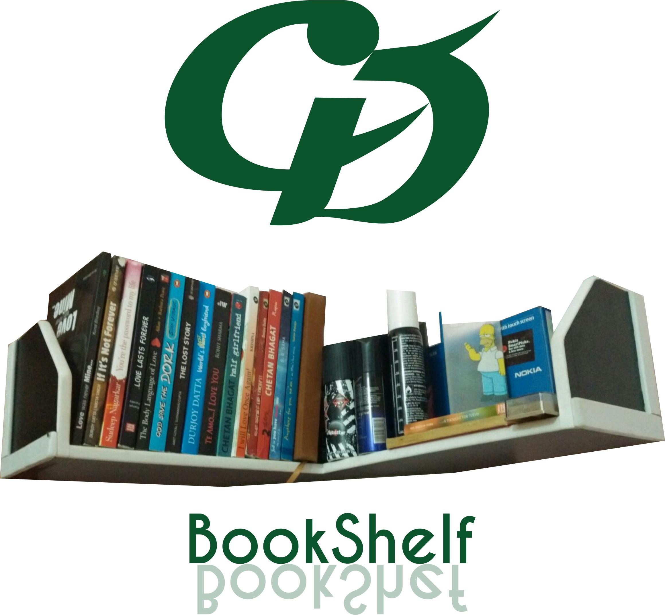 View GDF Plastic Open Book Shelf(Finish Color - White) Furniture (GDF)
