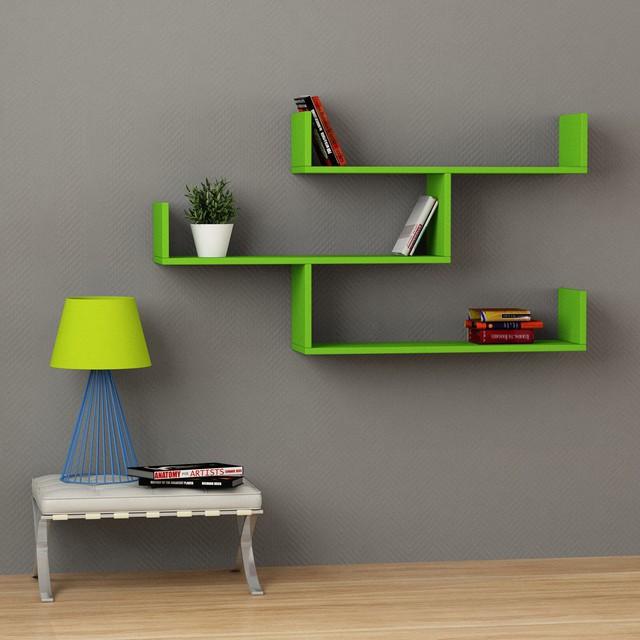 Kingscraft Solid Wood Open Book Shelf