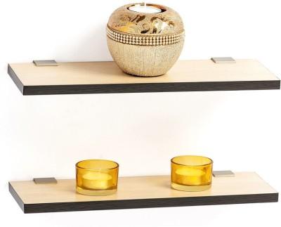 Amour Engineered Wood Open Book Shelf