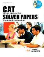 CAT Common Admission Test Solved Papers Entrance Examination 4th  Edition price comparison at Flipkart, Amazon, Crossword, Uread, Bookadda, Landmark, Homeshop18