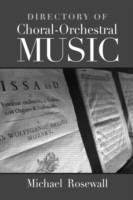 Directory of Choral-Orchestral Music price comparison at Flipkart, Amazon, Crossword, Uread, Bookadda, Landmark, Homeshop18