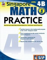Singapore Math Practice, Level 4B Grade 5 price comparison at Flipkart, Amazon, Crossword, Uread, Bookadda, Landmark, Homeshop18