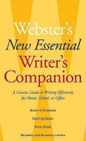Webster's New Essential Writer's Companion: A Concise Guide to Writing Effectively for Home, School, or Office price comparison at Flipkart, Amazon, Crossword, Uread, Bookadda, Landmark, Homeshop18