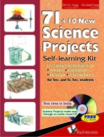 71 + 10 New Science Projects: Self-learning Kit (With CD) price comparison at Flipkart, Amazon, Crossword, Uread, Bookadda, Landmark, Homeshop18