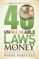 40 Unbreakable Laws of Money: Laws for Business, Success and Life best price on Flipkart @ Rs. 1096