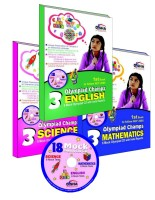 Olympiad Champs - Combo (Set of 3 Books) : Class 3 - Science||Mathematics||English with 18 Mock Olympiad CD price comparison at Flipkart, Amazon, Crossword, Uread, Bookadda, Landmark, Homeshop18