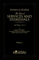 Doabia and Doabia The Law of Services and Dismissals (2 Vol Set) 4th Edition price comparison at Flipkart, Amazon, Crossword, Uread, Bookadda, Landmark, Homeshop18